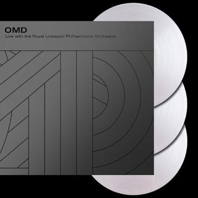 Orchestral Manoeuvres in the Dark Live with the Royal Liverpool Philharmonic Orchestra - Triple Heavyweight Clear LP (Vinyl)