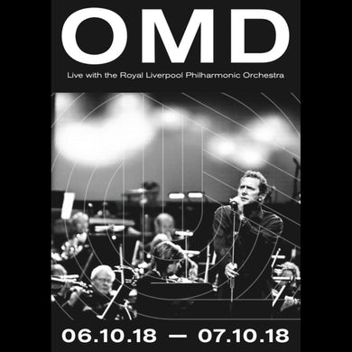 Orchestral Manoeuvres in the Dark Live with the Royal Philharmonic Orchestra - Poster