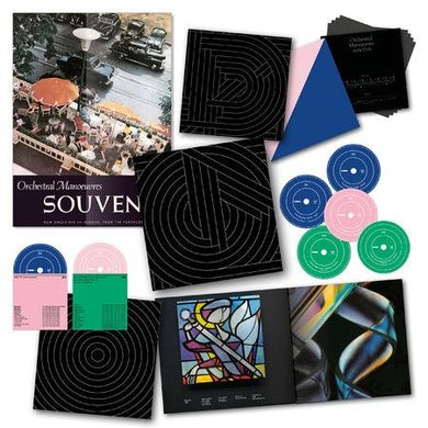 Orchestral Manoeuvres in the Dark Souvenir - 5CD+2DVD Limited Edition Deluxe Boxset