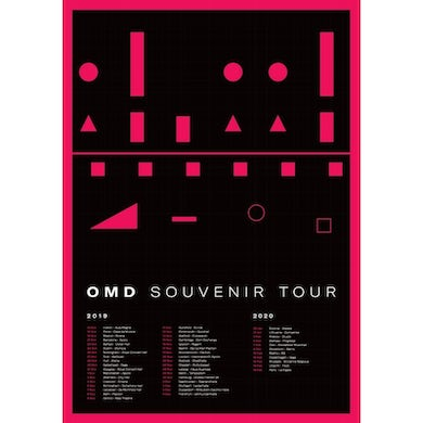 Orchestral Manoeuvres in the Dark Souvenir Tour - Poster [SIGNED]