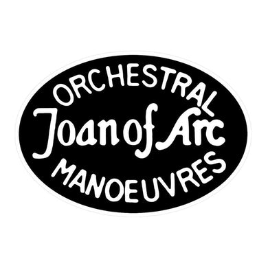 Orchestral Manoeuvres in the Dark Joan of Arc - Enamel Badge