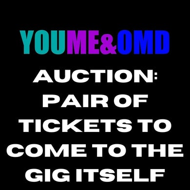 Orchestral Manoeuvres in the Dark shopify auction