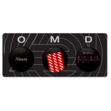 Souvenir Tour - Button Badge Set
