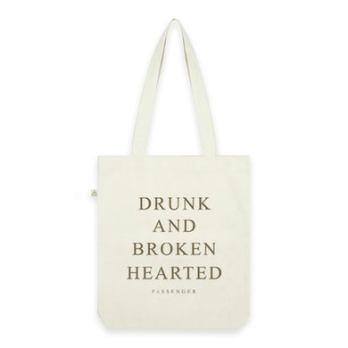 Passenger Drunk And Broken Hearted Natural Tote Bag