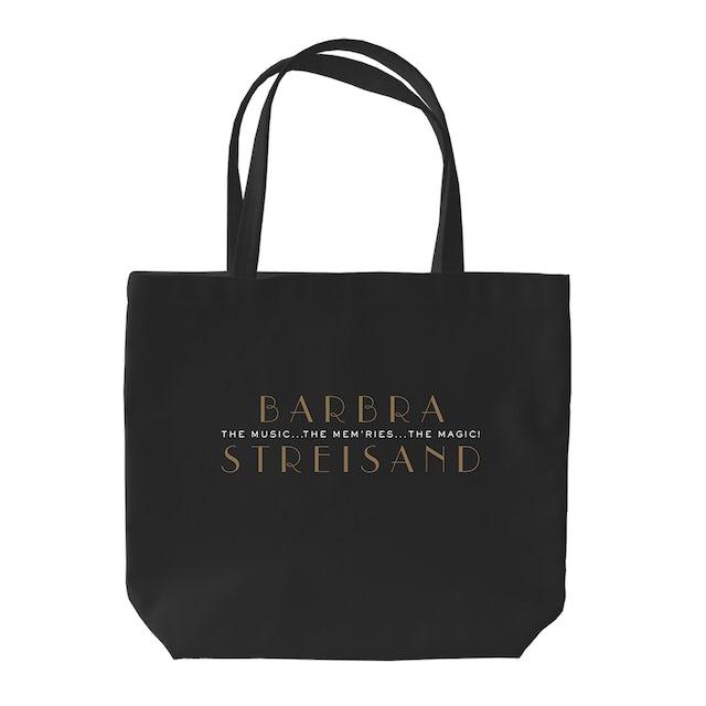 Barbra Streisand The Music The Mem'ries The Magic Tote Bag