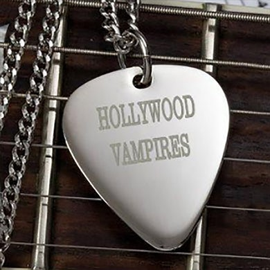 Hollywood Vampires Guitar Pick Necklace