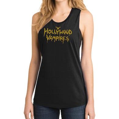 Hollywood Vampires Logo Bling Festival Tank
