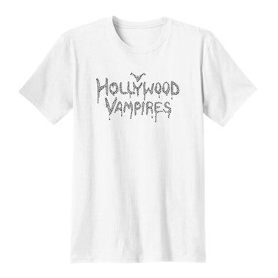 Hollywood Vampires Logo Bling Unisex Concert Crew