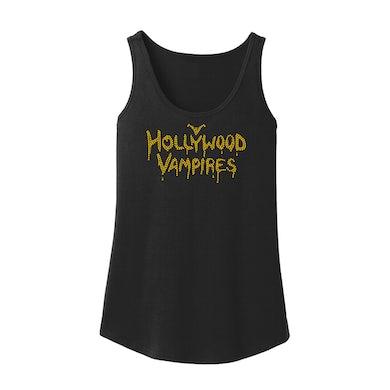 Hollywood Vampires Logo Bling Loose Fit Tank