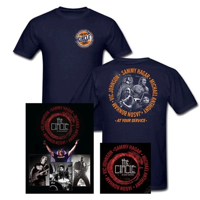 Sammy Hagar Circle CD + DVD + T-shirt Bundle