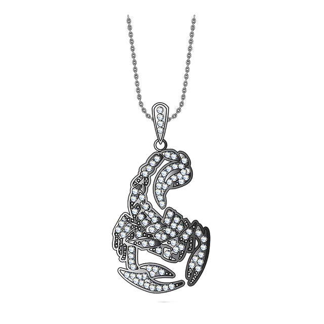 Scorpions 925 Sterling Silver Pendants