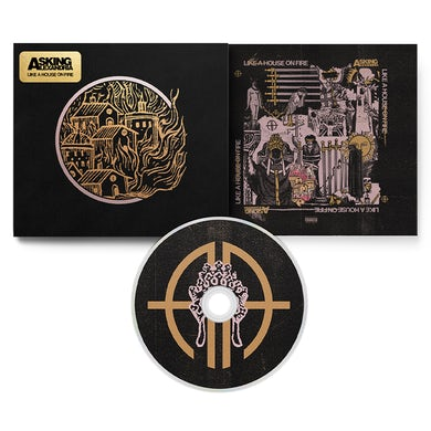 Asking Alexandria - 'Like A House On Fire' Deluxe CD Digipak