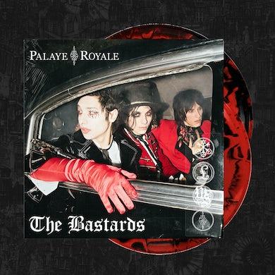 Palaye Royale - 'The Bastards' Vinyl Red & Black Side A/B Merge