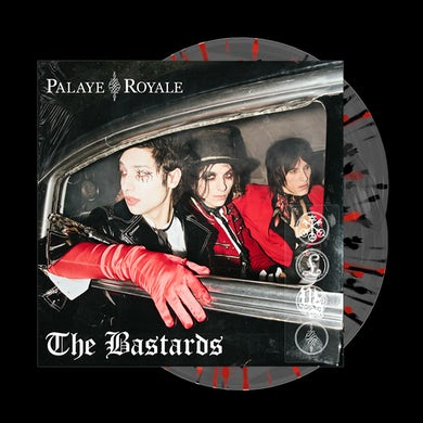 Palaye Royale - 'The Bastards' Vinyl Ultra Clear w/ Red & Black Splatter