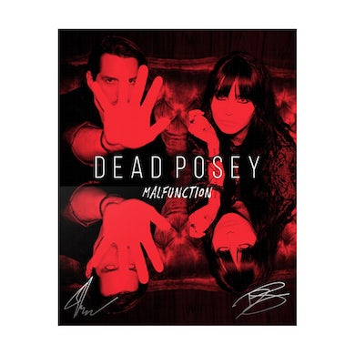 """Dead Posey - 8x10"""" Signed Photo Print"""