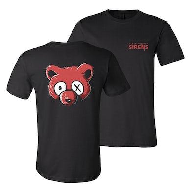 Sleeping With Sirens - Bear T-Shirt (Black)