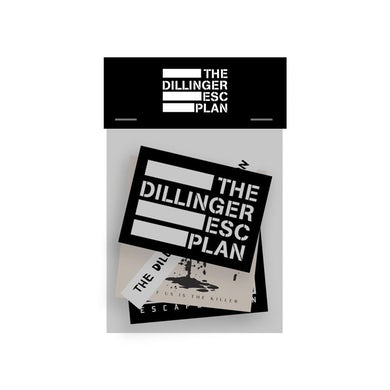 The Dillinger Escape Plan - Sticker Pack