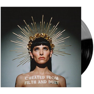 "'Created From Filth And Dust' 12"" Black & Ultra Clear Moonphase Vinyl"