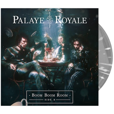 Palaye Royale - Boom Boom Room (Side B) Transparent Clear w/ White Splatter / Indies Exclusive