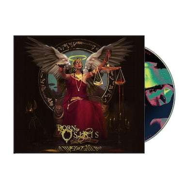 Angel or Alien CD (Deluxe Trifold Wallet w/ 20 page lyric booklet)