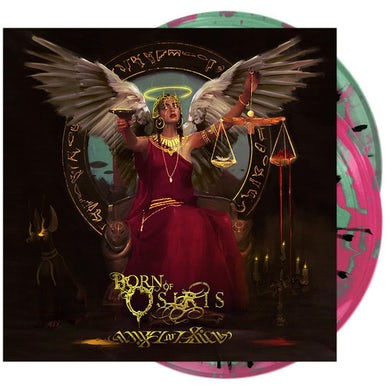 Angel or Alien Vinyl (2xLP Mint Green & Neon Magenta Side A/B w/ Black Splatter)