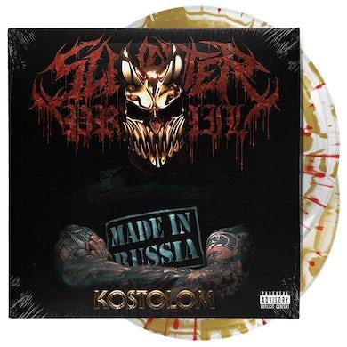 Slaughter To Prevail - Kostolom Vinyl (2xLP Gatefold Gold & White Vinyl w/ Red Splatter)