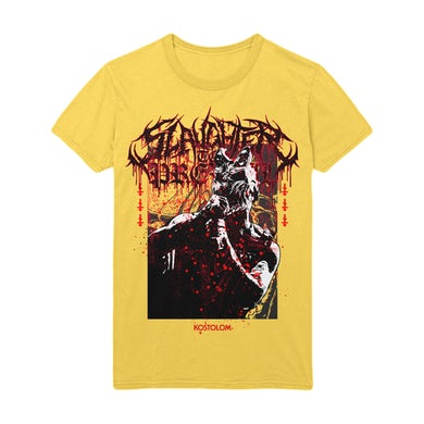 Slaughter To Prevail - 'Agony' Tee (Yellow)