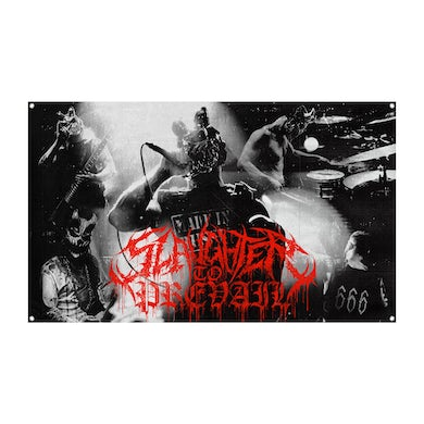 Slaughter To Prevail - Live Wall Flag