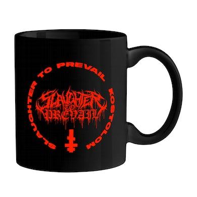 Slaughter To Prevail - 'Kostolom' Coffee Mug (Black w/ Red Ink)