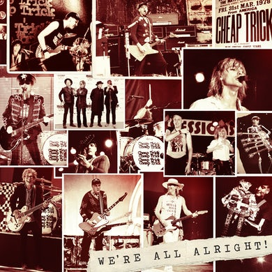 Cheap Trick - We're All Alright (Deluxe) - Picture Disc Vinyl