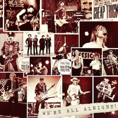 Cheap Trick - We're All Alright (Deluxe) - CD