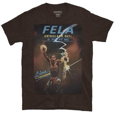 "Fela Kuti ""Live In Amsterdam"" T-Shirt"