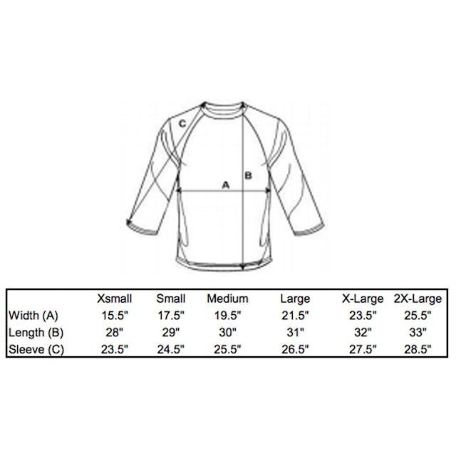 Okayplayer Questlove Retro 3/4 Sleeve Raglan T-Shirt
