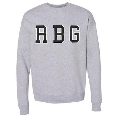 Dead Prez  RBG Chenille Athletic Crewneck Sweatshirt