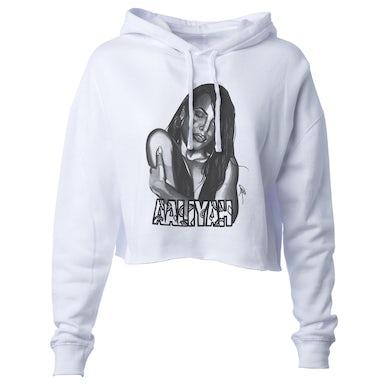 Sketch Crop Hooded Sweatshirt