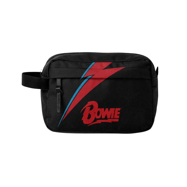 David Bowie - Wash Bag - Lightning Black