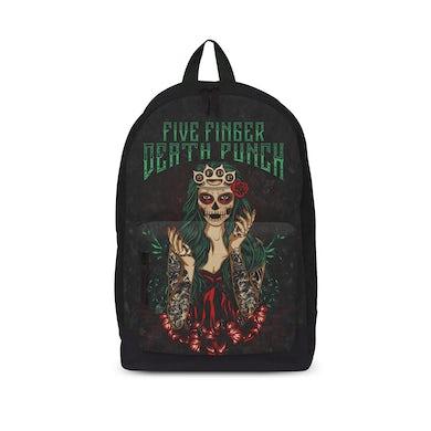 Five Finger Death Punch - Backpack - Dotd Green