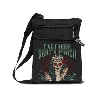 Rocksax Five Finger Death Punch Body Bag - Dotd Green