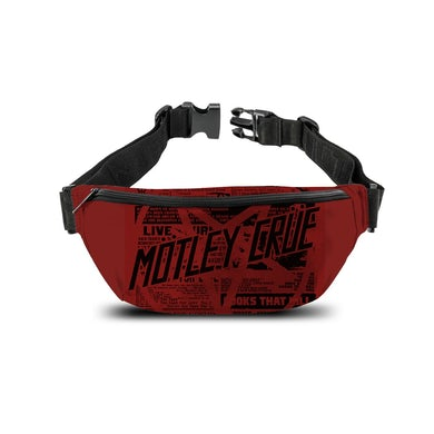 Rocksax Mötley Crüe Bum Bag - Girls Live