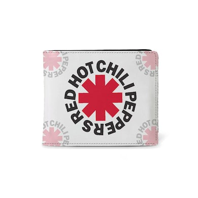 Red Hot Chili Peppers Wallet - Asterix White