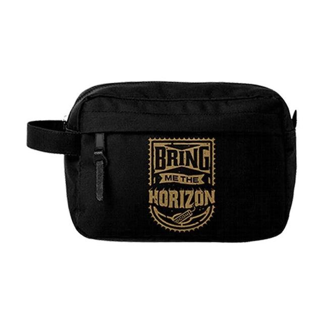 Bring Me The Horizon - Wash Bag - Gold
