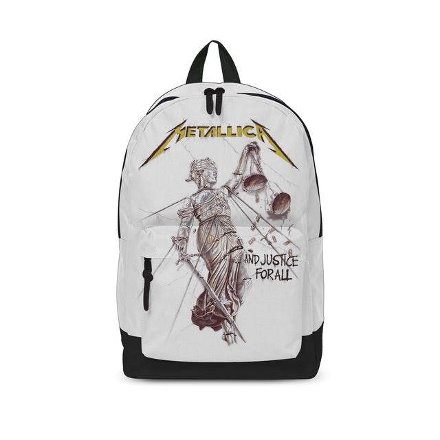 Metallica - Backpack - Justice For All White