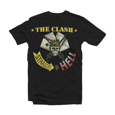The Clash T Shirt - Straight To Hell