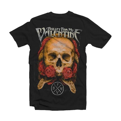Bullet For My Valentine T Shirt - Serpent Rose