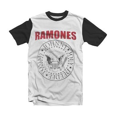 Ramones T Shirt - Seal White
