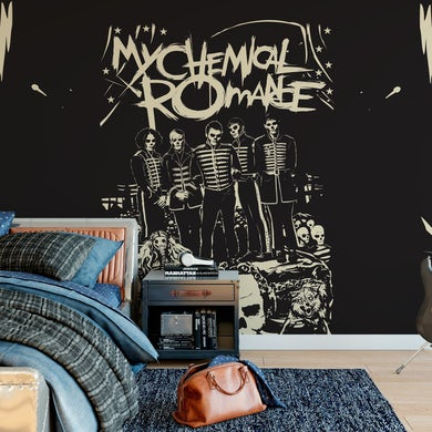 My Chemical Romance Mural - Undead