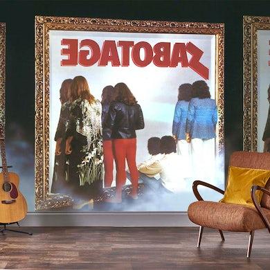 Rock Roll Black Sabbath Mural - Sabotage