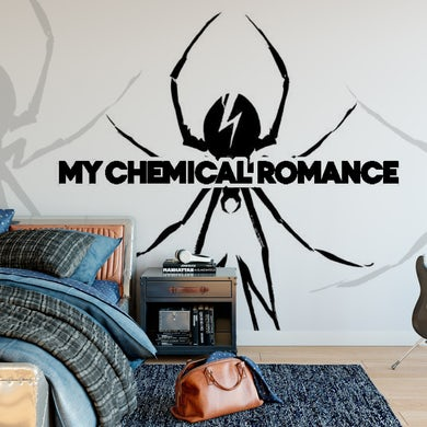 My Chemical Romance Mural - Spider