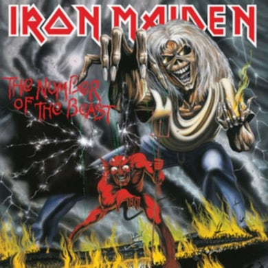 Iron Maiden LP - The Number Of The Beast (Vinyl)