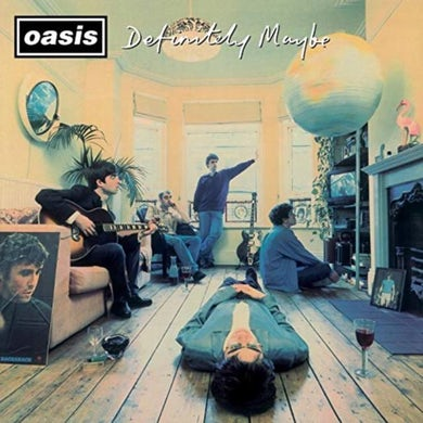 Oasis LP - Definitely Maybe (Remastered Edition) (Vinyl)